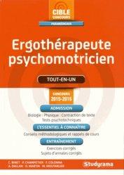 La couverture et les autres extraits de Ergothérapeute-psychomotricien