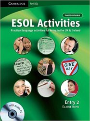ESOL Activities Entry 2 - Book with Audio CD