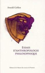 Essais d'anthropologie philosophique