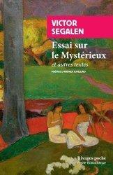Essai sur le Mystérieux et autres textes