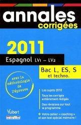 Espagnol LV1/LV2 Bac L, ES, S et techno
