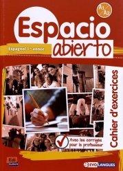 Espagnol 1re année Espacio Abierto A1-A2
