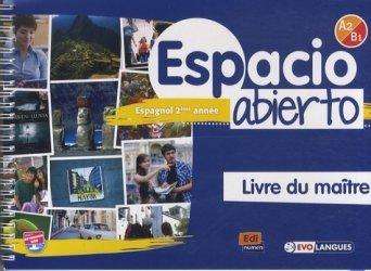 Espacio abierto espagnol 2e année niveau A2-B1