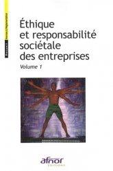Ethique et responsabilité sociétale des entreprises