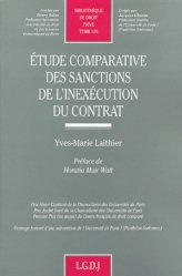 Etude comparative des sanctions de l'inexécution du contrat