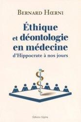 La couverture et les autres extraits de L'éthique en médecine bucco-dentaire