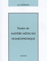 Études de matière médicale homéopathique