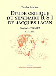 Étude critique du séminaire RSI de Jacques Lacan