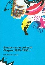 Etudes sur le collectif Grapus (1969-1990)