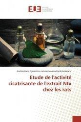 Etude de l'activité cicatrisante de l'extrait Ntx chez les rats