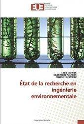 Etat de la recherche en ingénierie environnementale