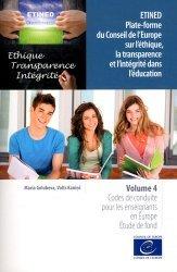 ETINED Plate-forme du Conseil de l'Europe sur l'éthique, la transparence et l'intégrité dans l'éducation