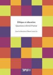 Ethique et éducation