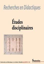 Etudes disciplinaires