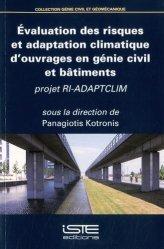Evaluation des risques et adaptation climatique d'ouvrages en génie civil et bâtiments