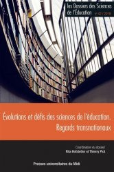 Evolutions et défis des sciences de l'éducation