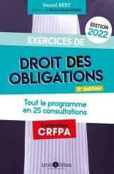 Exercices de droit des obligations 2022