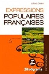 Expressions populaires françaises. 2e édition