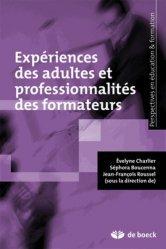 Expériences des adultes et professionnalités des formateurs