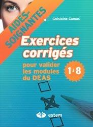 Exercices corrigés pour valider les modules du DEAS 1 à 8