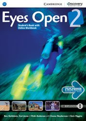 Eyes Open Level 2 - Student's Book with Online Workbook and Online Practice