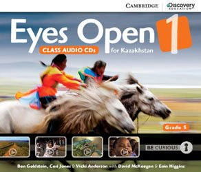 Eyes Open Level 1 - Class Audio CDs (3) (Grade 5 Kazakhstan Edition)