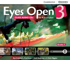 Eyes Open Level 3 - Class Audio CDs (3) (Grade 7 Kazakhstan Edition)
