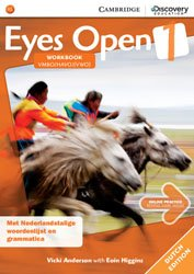 Eyes Open Level 1 - Workbook with Online Practice (Dutch Edition)