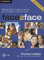 face2face, Pre-intermediate - Testmaker CD-ROM and Audio CD