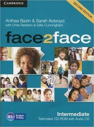 face2face, Intermediate - Testmaker CD-ROM and Audio CD