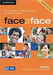face2face, Starter - Testmaker CD-ROM and Audio CD