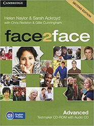 face2face, Advanced - Testmaker CD-ROM and Audio CD