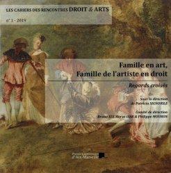 Famille en art, famille de l'artiste en droit