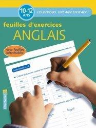 Feuilles d'exercices anglais