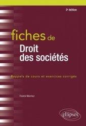 La couverture et les autres extraits de Fiches de droit du travail. Rappels de cours et exercices corrigés, 6e édition