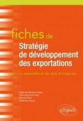 Fiches de stratégie de développement des exportations