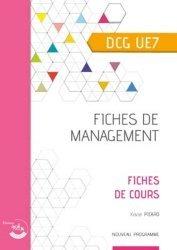 Fiches de management DCG 7