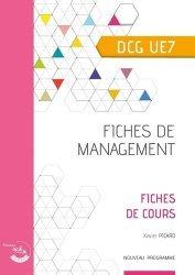 Fiches de management DCG UE7