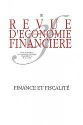 Finance et fiscalité