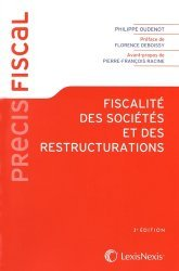 La couverture et les autres extraits de Précis de fiscalité des entreprises. Edition 2019-2020