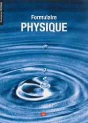 Formulaire de physique