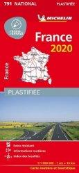La couverture et les autres extraits de France. 1/1 000 000, Edition 2020