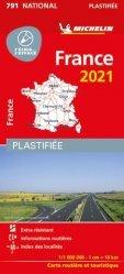 La couverture et les autres extraits de France Nord-Ouest. 1/500 000, Edition 2019