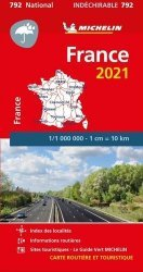 La couverture et les autres extraits de France. 1/1 000 000, Recto-verso, Edition 2020