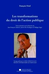 François Féral. Les transformations du droit de l'action politique