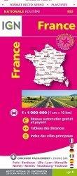 La couverture et les autres extraits de France Format XL recto-verso. 1/750 000
