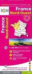 La couverture et les autres extraits de France Nord-Est. 1 : 500 000, Edition 2016
