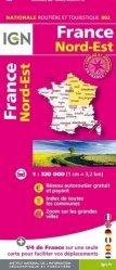 La couverture et les autres extraits de France Sud-Ouest. 1/320 000