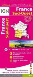 La couverture et les autres extraits de France. 1/1 100 000, Edition 2017