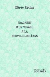 Fragment d'un voyage à la Nouvelle-Orléans